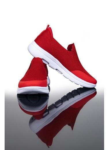 Letoon Ltn03 Erkek Trıko Spor Ayakkabı Bordo